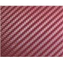 Carbonová folie 3D 50x60 cm vínová