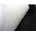 Carbon folie 3D 152x180 cm bílá