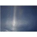 Carbon folie 3D 152x180 cm modrá