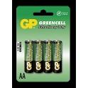 GP baterie Greencell R6 AA 4 ks - blistr