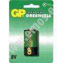 GP baterie Greencell 9V 1 ks - blistr