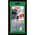 SONAX čistící ubrousky na plasty - mat 10 ks