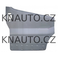 Opravný plech krytu dveří Primastar , Vivaro , Trafic II - Levý přední