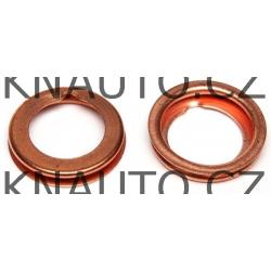 Těsnicí kroužek, olejová vypouštěcí zátka ELRING Dacia, Renault, Nissan - 11026-01M02