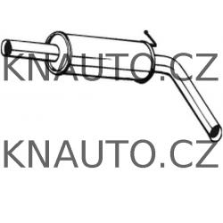 Střední tlumič výfuku POLMOSTROW Škoda, Seat, VW 1.9TDI/SDI - 6Q0253209R