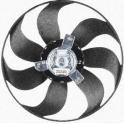 Ventilátor bez krytu/podpěry VW Passat B3, B4, B5