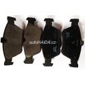 Brzdové destičky SRL S70-0076 Mercedes E W210, S210, SLK R170, C W202, S202, CLK C208, A208 - přední