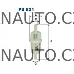 Palivový filtr FILTRON PS 821 univerzální pro naftu benzín či vodu