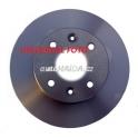 Brzdový kotouč TRW DF4027 288mm - přední
