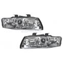 Hlavní èiré tuning reflektory Dewil Eyes Audi A4 (B6)