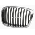 Møížka maska BMW 5 E39 Facelift - chrom/èerná levá
