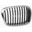 Møížka maska BMW 5 E39 Facelift - chrom/chrom/èerná pravá