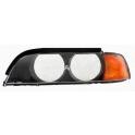 Sklo reflektoru BMW 5 E39 - levé