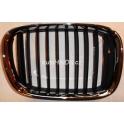 Møížka BMW 5 E39 - chrom/èerná pravá