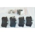 Zadní brzdové destičky TRW GDB1330 Audi A3, Škoda Octavia I, Fabia I, VW Golv IV, Golf V ...
