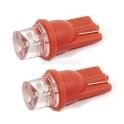 Žárovka 1LED 12V T10 èervená 2ks