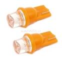 Žárovka 1LED 12V T10 oranžová 2ks