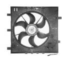 Ventilátor s krytem/podpěrou Mercedes Vito, V-Classe W638
