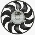 Ventilátor bez krytu/podpěry VW T4 - 450W, 280mm, 10 lopatek