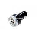 Adaptér 2x USB 12/24V