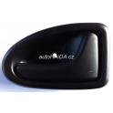 Vnitřní klička černá Renault - pravá