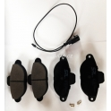 Brzdové destičky SRL S70-0050 Fiat Punto I, Seicento, Lancia Y - přední