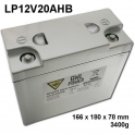 GWL/Power Lithium Battery LiFePO4 (12V/20Ah)