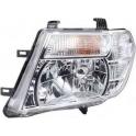 Hlavní reflektor Nissan Navara/Frontier D40, Pathfinder R51 od 04/2010 - levý