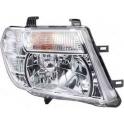 Hlavní reflektor Nissan Navara/Frontier D40, Pathfinder R51 od 04/2010 - pravý