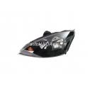 Hlavní černý reflektor TYC Ford Focus ST170 98-01 - levý