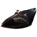 Hlavní černý DJAUTO reflektor Ford Focus 98-01- levý