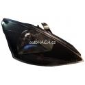 Hlavní černý DJAUTO reflektor Ford Focus 98-01 - pravý