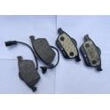 Sada brzdových destiček, kotoučová brzda ATE 13.0460-7110.2 Audi, Seat, Škoda Superb, VW Passat 3B- přední
