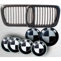 Èerný paket, set èernobílý pro BMW 3 E36