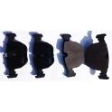 Brzdové destičky SRL S70-0163 BMW 5 E 39, X5 E 53 - přední
