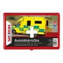 SHERON Autolékárnička červená plast CZ vyhláška č.341/2014
