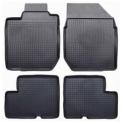 Gumové koberečky černé Škoda Fabia II