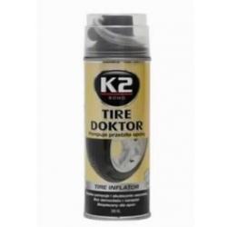 Havarijní prostředek pro vulkanizaci pneumatik TIRE DOKTOR K2 398ML