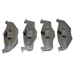 Brzdové destičky WERTTEILE WER2385 SEAT AROSA 1.0 97-04, 1.4TDI 00-04 / SKODA FABIA 1.2 02- / VW LUPO 1.7SDI 98-05