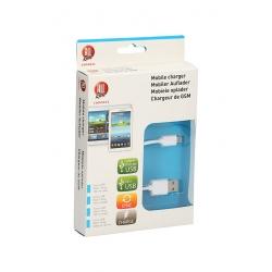 ALLRIDE WHITE Nabíjecí kabel USB micro