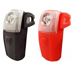 Osvětlení zadní 4RACE LR02 3+0,5W LED + USB