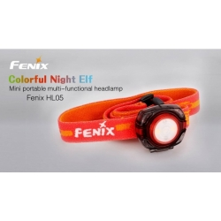 čelovka Fenix HL05 - modrá / zelená / červená