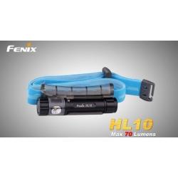 čelovka Fenix HL10 - černá / zlatá / světle fialová