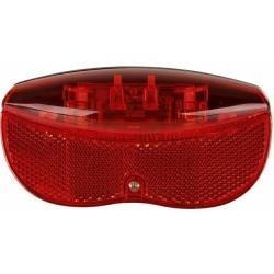 Osvětlení zadní na nosič s 2 LED pro dynamo