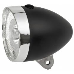 Osvětlení přední 1 x 0,5W LED bateriové černé