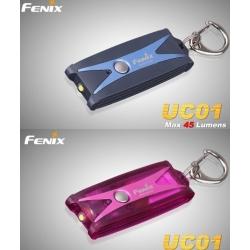 Svítilna Fenix UC01 nabíjecí - modrá/růžová