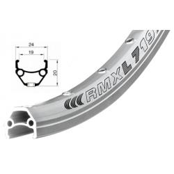 Ráfek REMERX DRAGON 719 V-brake 622x19 nýt 36děr stříbrný
