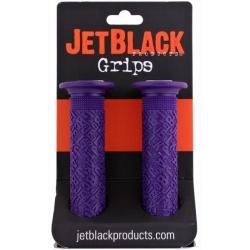Gripy JetBlack PRO BMX fialové