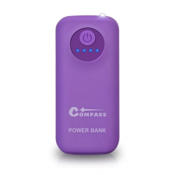 POWER BANK 5200mAh + 30cm kabel