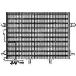 Chladic klimatizace 650(590)x440x16 Mercedes E W211,S211